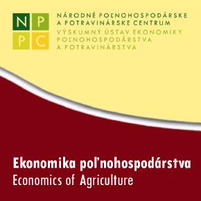 NPPC Ekonomika poľnohospodárstva PDF 2019