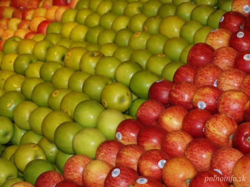 Slovenské jablko má na východe perspektívu. Končí v školách aj u poľských spracovateľov