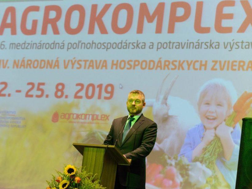 Príhovor predsedu vlády SR na otvorení výstavy Agrokomplex 2019