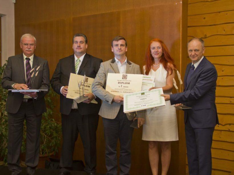 Fotogaléria: Slávnostné vyhodnotenie súťaže Top Agro Slovensko 2018