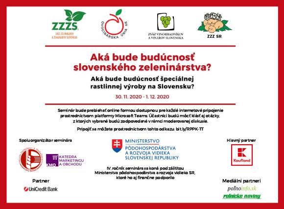 Zväz zeleninárov 2020-11-24 – Podujatie