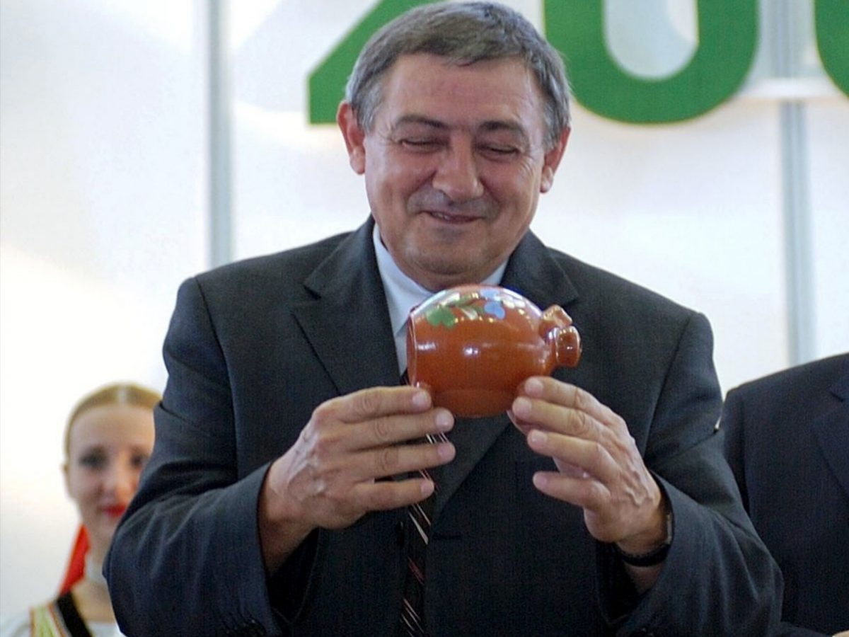 Odišiel veľký poľnohospodár - Ivan Oravec