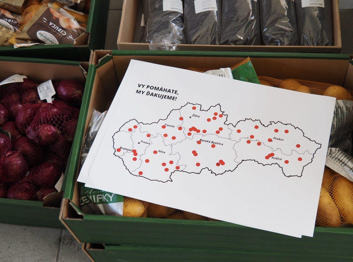 Poľnohospodári a potravinári spustili celoslovenskú akciu darovania potravín